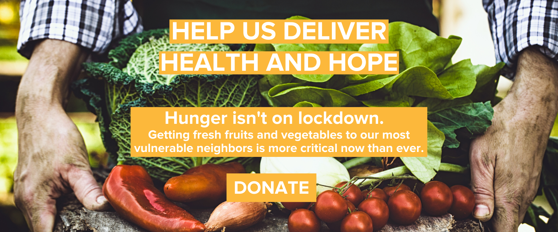 After the Harvest - Hunger isn't on lockdown