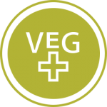 Green veg icon with plus sign